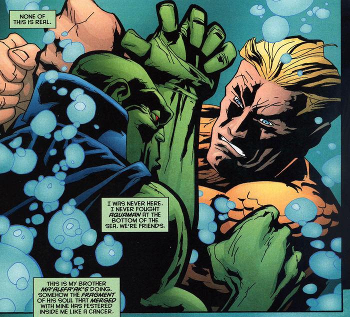 Супергеройские способности: Аквамэн Супергерои, DC Comics, Аквамен, Комиксы-Канон, Длиннопост