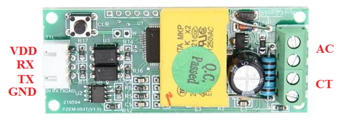 Wi-Fi энергомонитор на PZEM-004t и ESP-12F Arduino, Wi-Fi, Thingspeak, Pzem-004t, OLED, SSD, Esp8266, Ds18b20, Длиннопост