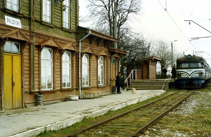 ЭР1-49 (по Эстонской нумерации 2304) на станции Палдиски