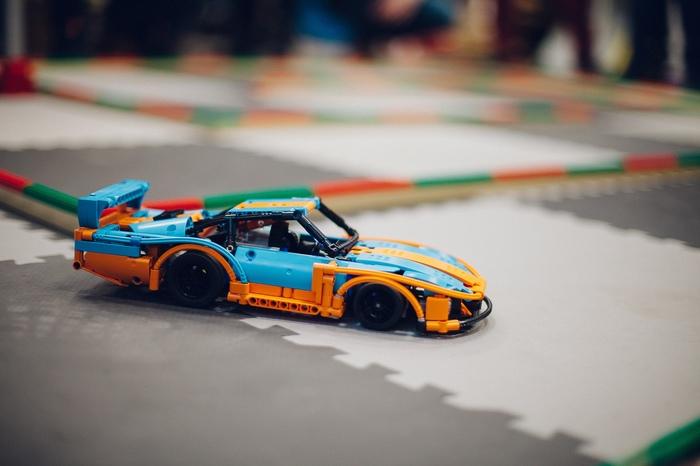 Лего Porsche 935-78 gulf самоделка LEGO technic, LEGO, Видео, Длиннопост