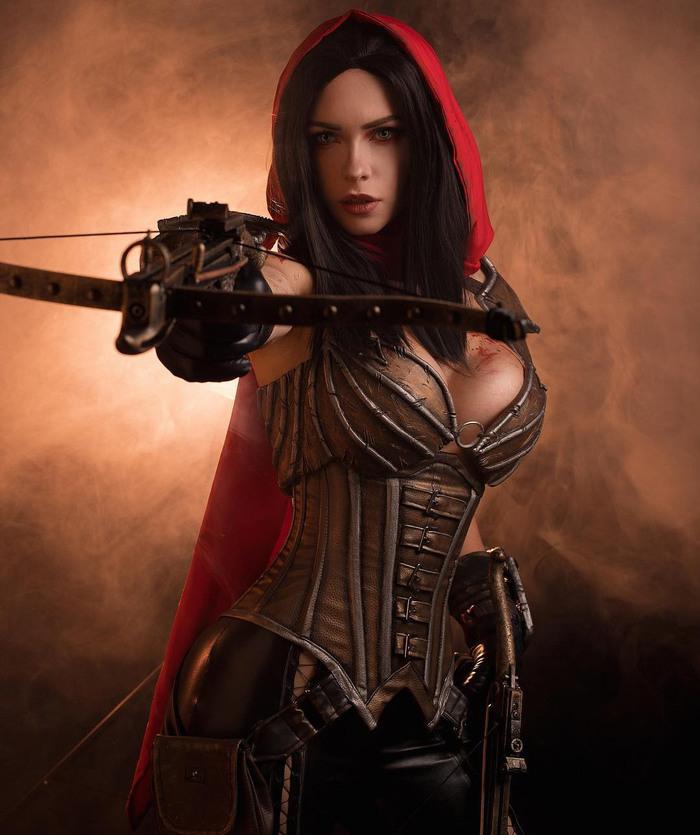 Demon Hunter [ Diablo ] < Irine Maier > Diablo, Косплей, Костюм, Косплееры, Компьютерные игры, Длиннопост, Девушки