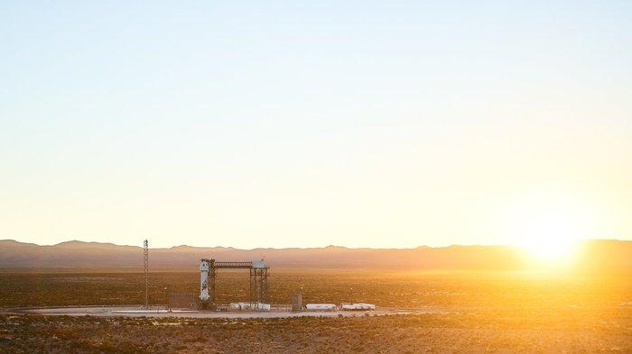 Космический туризм все ближе Blue Origin, New Shepard, Ракета, Космос, Туризм, Видео