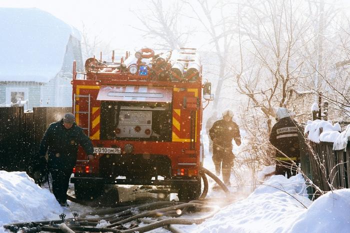 Работа пожарных ч.2 Пожар, Пожарные, Репортаж, Воронеж, Длиннопост