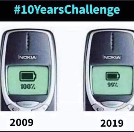 Лучшее из 2009 vs 2019