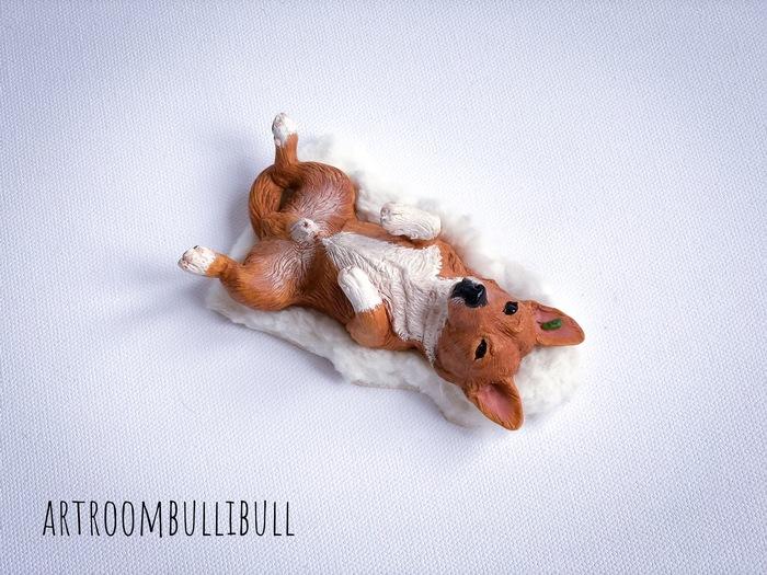 Брошка портретная из полимерной глины. Собака, Брошь своими руками, Брошь, Полимерная глина, Портретная брошь, Длиннопост