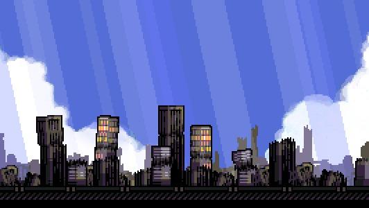 Графика для небольшой игрушки с последнего Ludum Dare Пиксель, Pixelgif, Pixel Art, Indie, Gamedev, Инди, Разработка игр, Робот, Гифка, Длиннопост