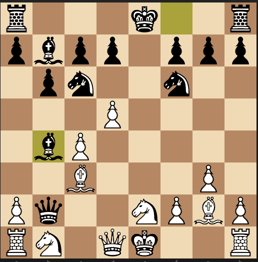 Смотря как посмотреть Шахматы, Мексиканская дуэль, Ход белых