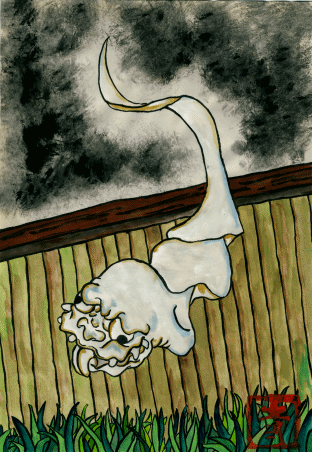Странные существа из японского фольклора. Часть 2 Японская мифология, Япония, Монстр, Чудовище, Призрак, Из сети, Длиннопост, Крипота