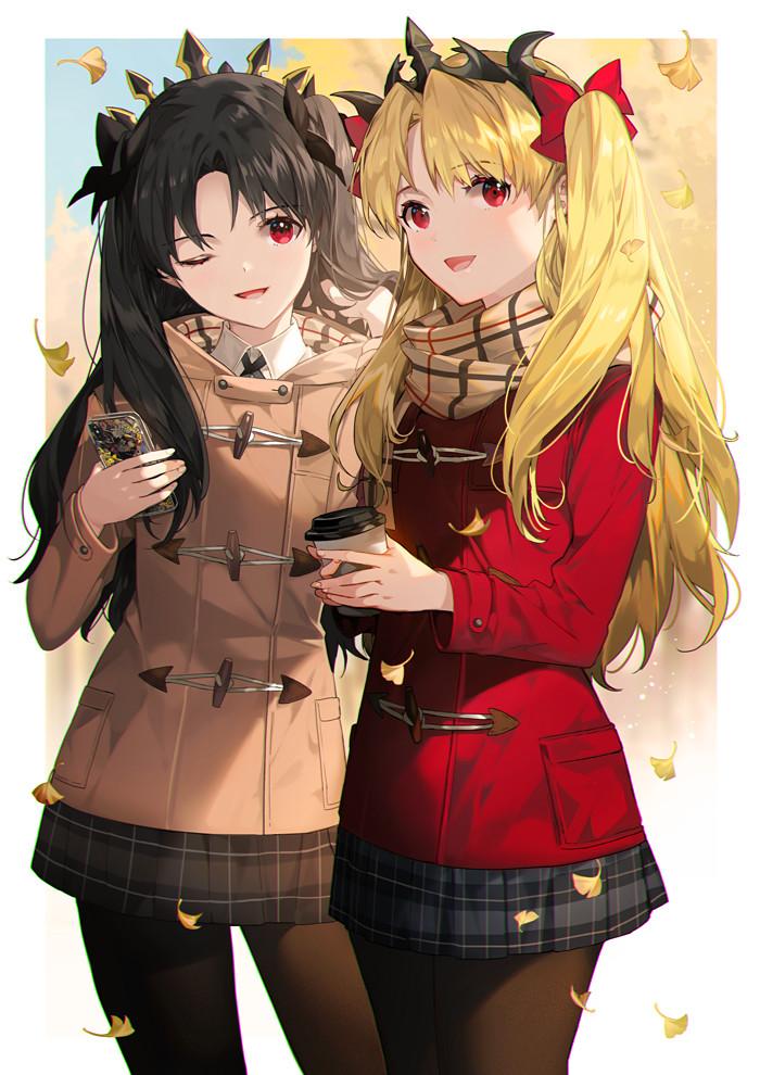 Ereshkigal and Ishtar