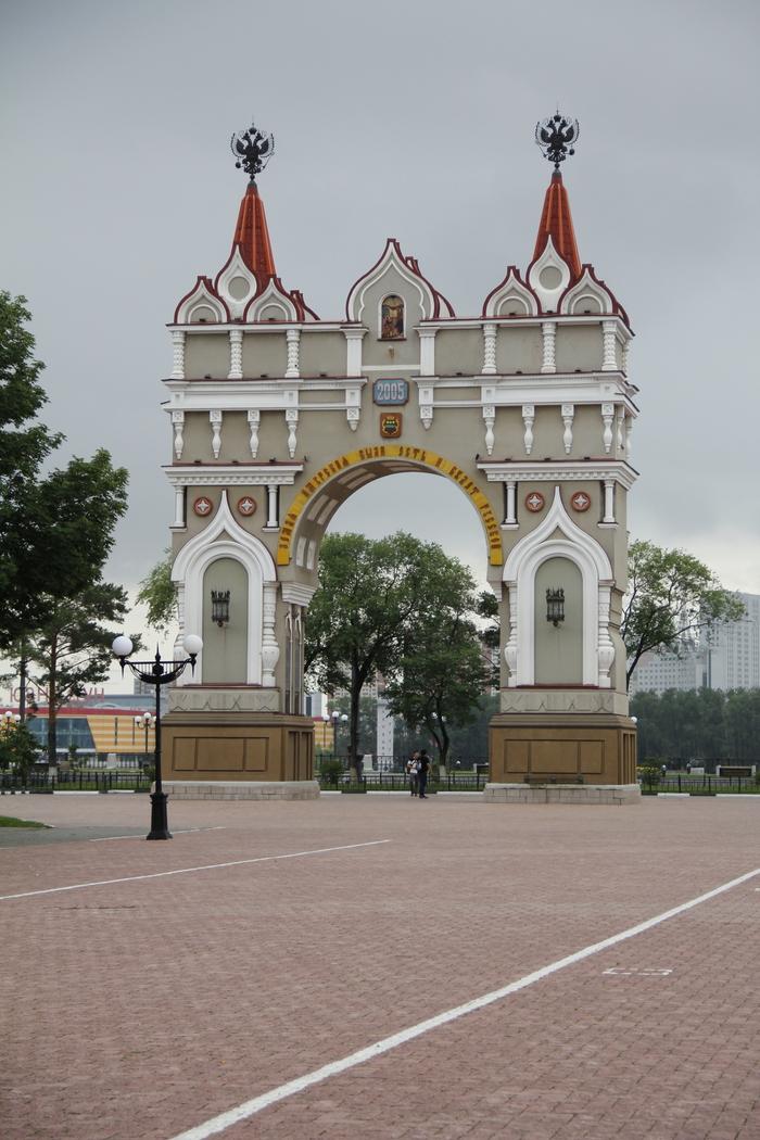 Прогулка по Благовещенску Благовещенск, Фотография, Набережная, Амурская область, Длиннопост
