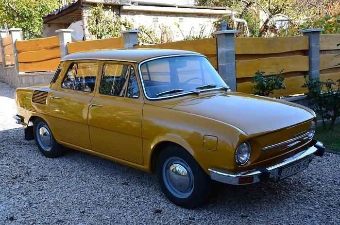 Skoda S100 1972 Шкода, Авто, Машина, Ретро, Ретроавтомобиль