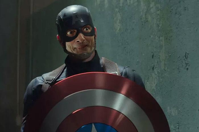 Мистер Бин спасает вселенную Мистер Бин, Лига марвел, Marvel, Фотошоплю как умею, Длиннопост