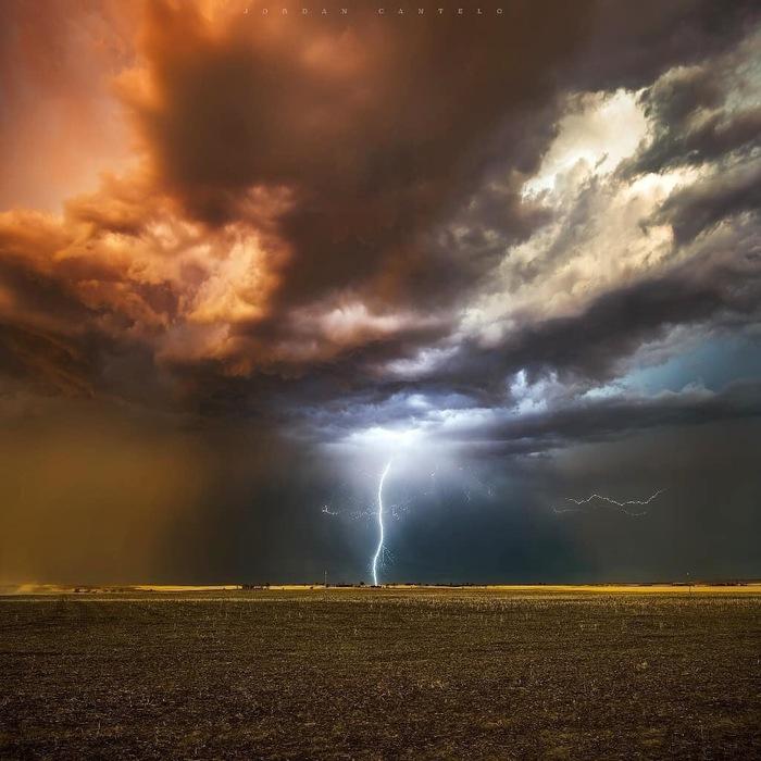 Молния Фотография, Красивый вид, Природа, Погода, Тучи, Молния, Гроза, Jordan Cantelo