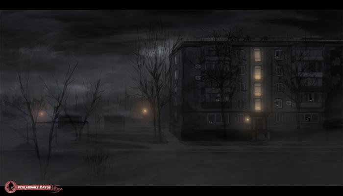 Ночь. Туман.
