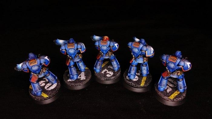 Primaris Hellblasters Warhammer 40k, Wh miniatures, Wh painting, Миниатюра, Покраска миниатюр, Ultramarines, Длиннопост