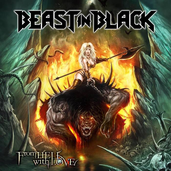 Beast In Black -From Hell With Love (2019) Power Metal, Heavy Metal, Beast in Black, Yannis Papadopoulos, Anton Kabanen, Battle Beast, Видео, Клип, Berserker, Длиннопост