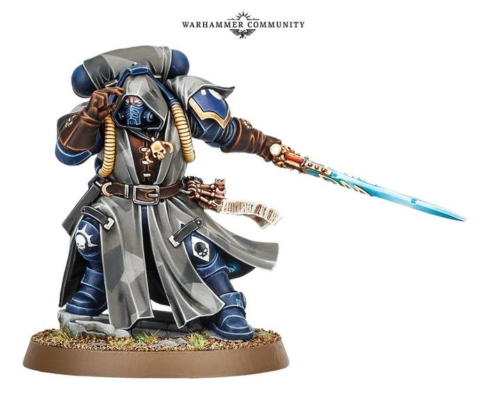 Новые примарисы Warhammer 40k, Ultramarines, Primaris Space Marines