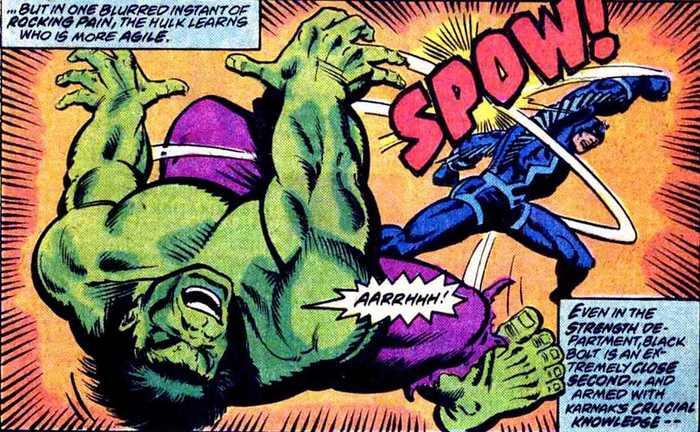 Супергеройские способности: Чёрный Гром Супергерои, Marvel, Нелюди, Комиксы-Канон, Длиннопост