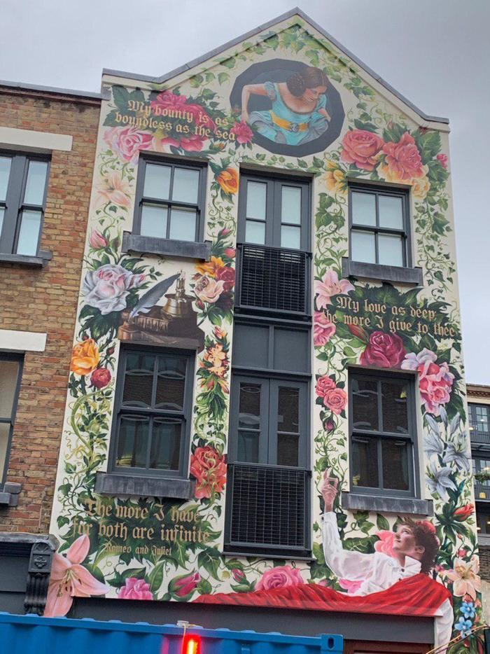 Пост с прекрасным Лондонским граффити Великобритания, Граффити, Улица, Лондон, Длиннопост