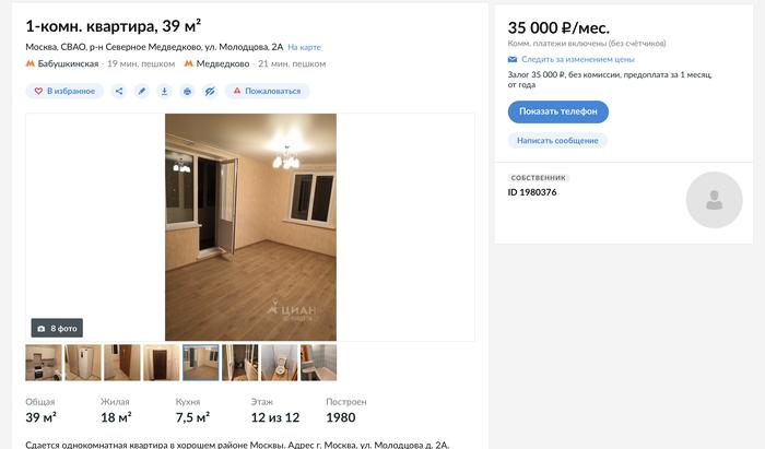 156c3b79 Выгодно ли снимать квартиру без ремонта и мебели? Расчёт окупаемости.  Аренда жилья, Аренда