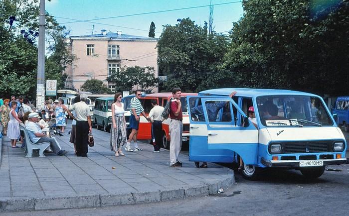 Ялта 1995 год Ялта, Крым, Южный берег Крыма, История в фотографиях, Длиннопост