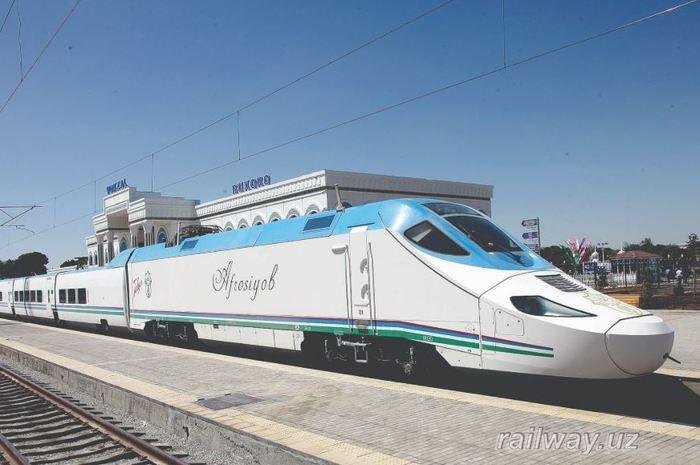 Высокоскоростная железная дорога Узбекистана(бонус в конце поста). Железная Дорога, Длиннопост, Узбекистан