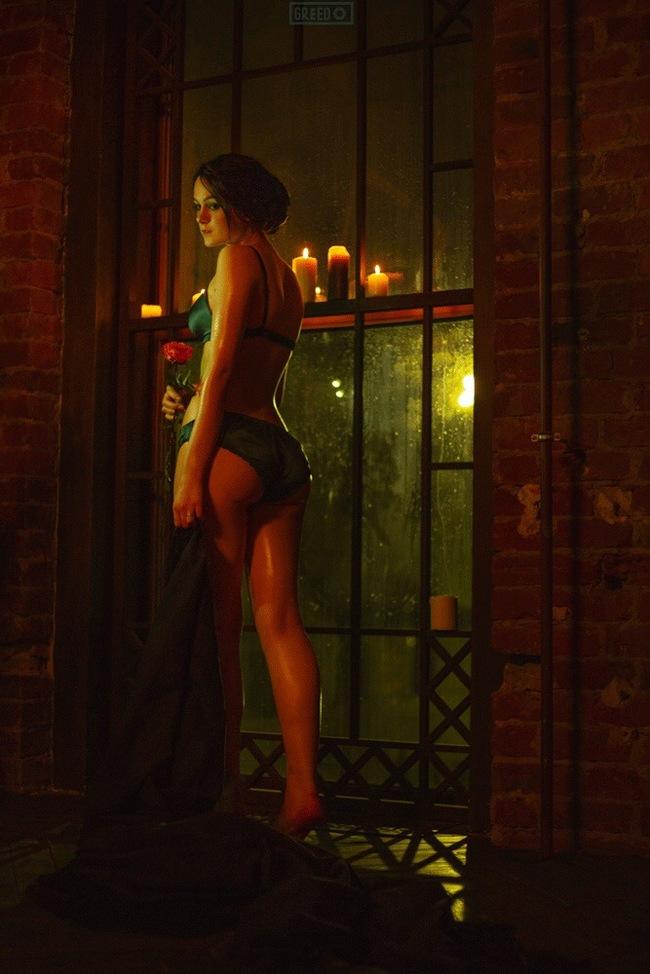Iris von Everec Косплей, Русский косплей, Ведьмак, Ведьмак 3, Видеоигра, Ирис фон Эверек, Greed, Красивая девушка, Длиннопост