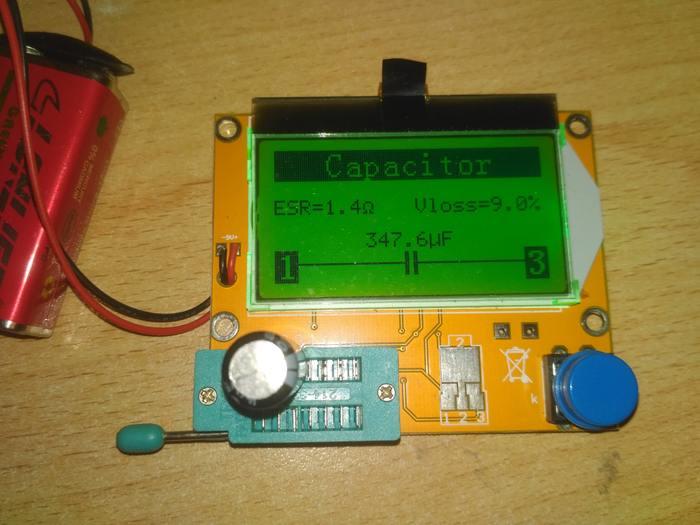 Даже невздутый кондёр может оказаться неисправным. Проверяем конденсаторы на ESR-метре Конденсатор, Радиокомпоненты, Радиоэлектроника, Esr метр, Длиннопост