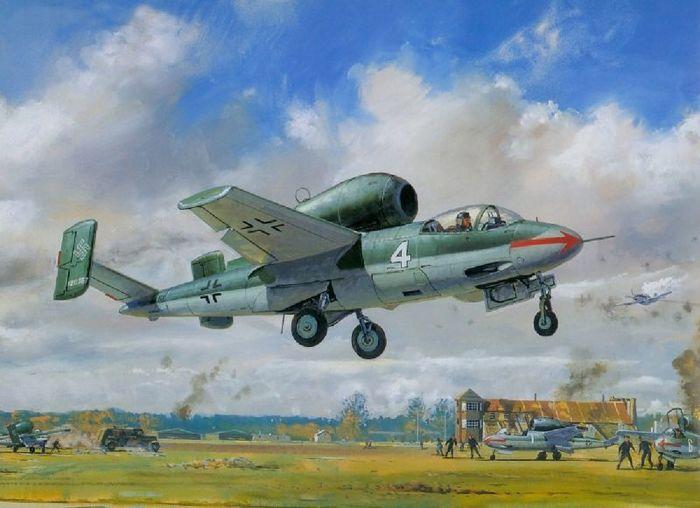 He-162 Salamander. Народный истребитель для рейха. Реактивный самолет, Германия, Вторая мировая война, He-162, Длиннопост