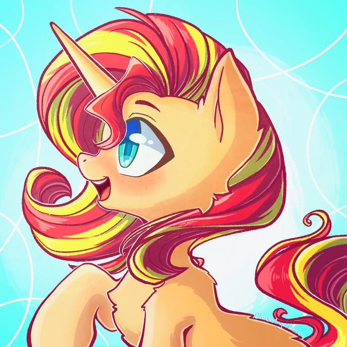 Sunset Shimmer My Little Pony, Ponyart, Sunset Shimmer, Chaosangeldesu