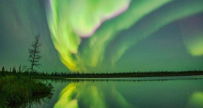 Хочу все знать #107. Красивейшие северные сияния Джека Дикинга. Хочу все знать, Канада, Северное сияние, Красота, Природа, Интересное, Длиннопост
