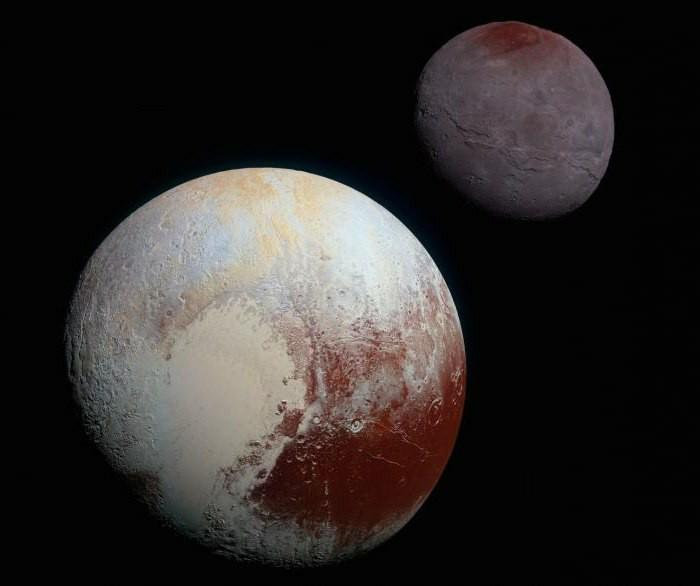 Немного о Хароне Космос, Космонавтика, Плутон, Спутник, Харон, Солнечная система, Длиннопост
