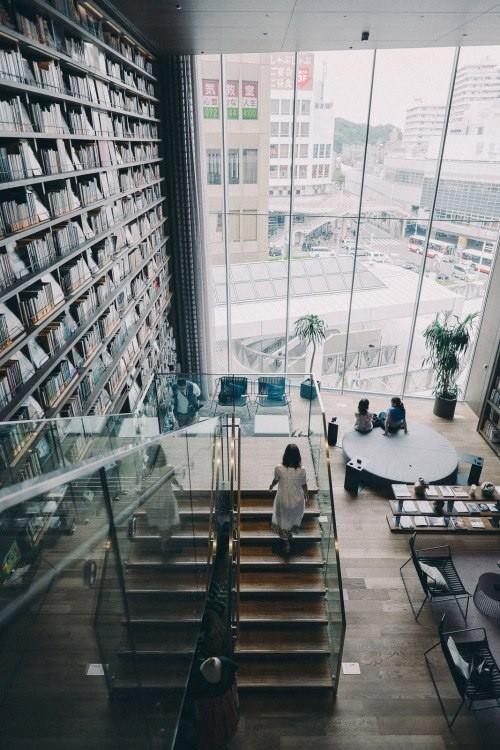 Япония Япония, Книги, Книжный магазин, Красота, Осака