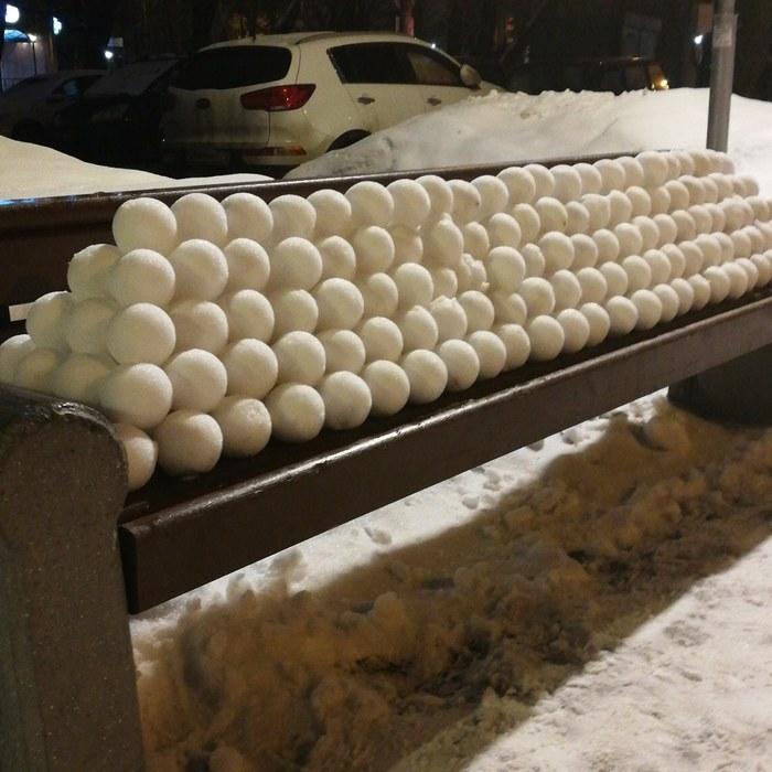 Снежки для перфекциониста Снежки, Зима, Москва