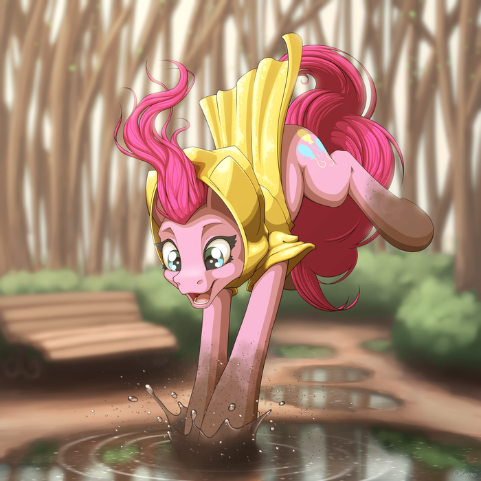 After The Rain My Little Pony, Pinkie Pie, Ohemo