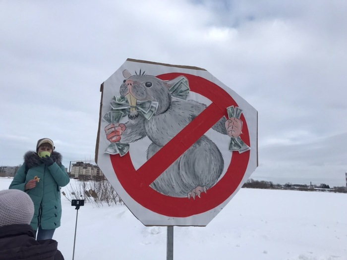 Сегодняшний митинг в Северодвинске Мусор, Митинг, Северодвинск, Архангельская область, Шиес, Длиннопост, Мусороперерабатывающий завод, Политика