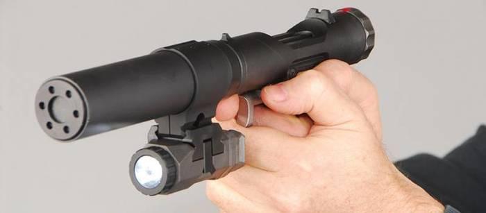 Пистолет VP9: от оружия британских диверсантов до ветеринарного инструмента Пистолет бесшумный, Оружие, Видео, Длиннопост