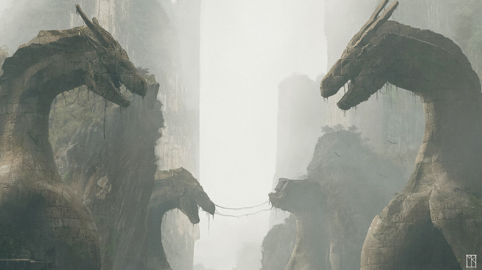 Валирия Валирия, Игра престолов, Арт, Рисунок, Max Riess, Длиннопост