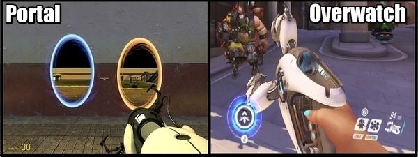 Симметра - герой Portal 3 в Overwatch. Overwatch, Symmetra, Герои, Юмор, Длиннопост, Гифка, Мемы