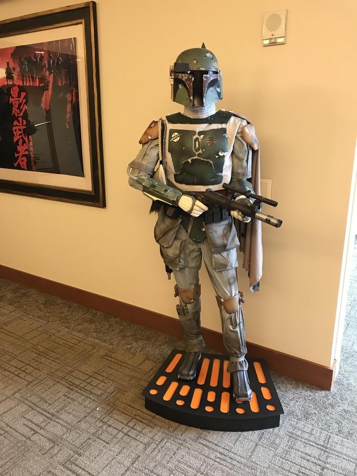 Lucasfilm lobby Star Wars, Stormtroper, Штурмовик, Lucasfilm, Бобба Фетт, Сан-Франциско, Модели, K2so, Длиннопост