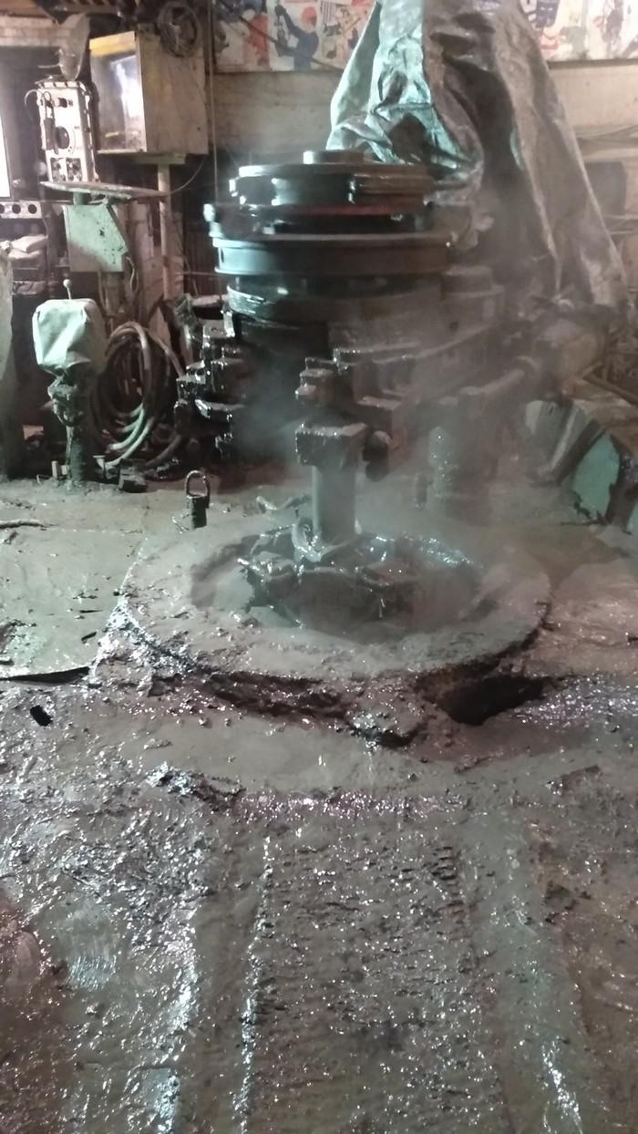 Буровая БУ-3000 ЭУК изнутри Нефть, Бурение, Длиннопост