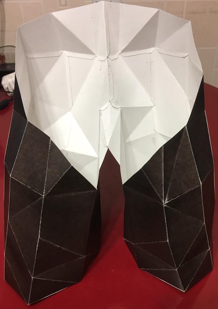 Мастер Йода («Нет! Не пробуй. Сделай») Pepakura, Papercraft, Длиннопост, Изделия из бумаги, Своими руками, Рукоделие без процесса, Йода, Handmade