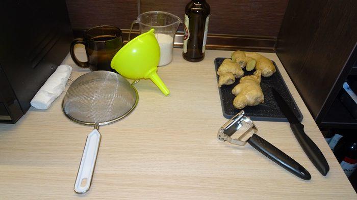 Домашний бар. Ингредиенты. Часть 3.2 - Самодельные ингредиенты. Имбирный сироп / Имбирный эль / Имбирное пиво. Бар, Коктейль, Длиннопост, Рецепт, В домашних условиях, Алкоголь