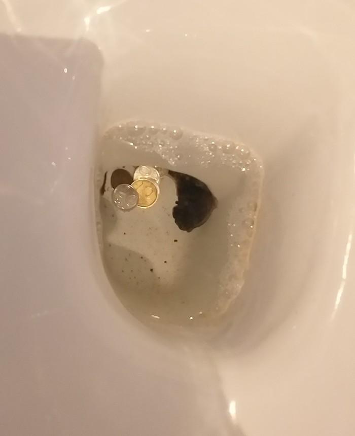 Монету бросают, чтобы вернуться Караганда, Туалет, Длиннопост