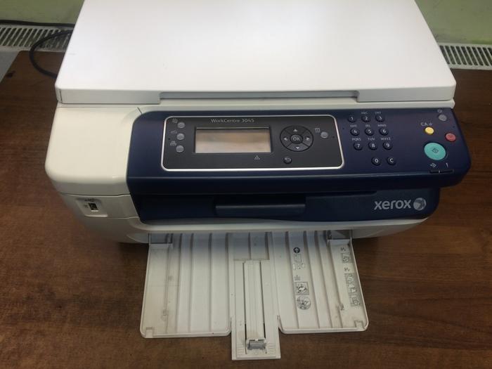Техническое обслуживание принтера Xerox Workcenter 3045. Ремонт принтера, Ремонт оргтехники, Техническое обслуживание, Длиннопост