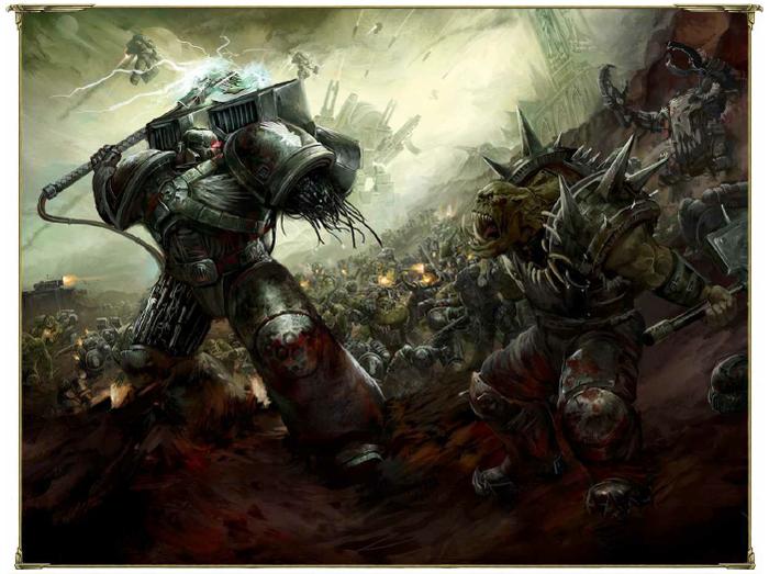 Брат за брата. Мнение о повести Джорджа Манна «Шрайк» Warhammer 40k, Raven Guard, Kayvaan Shrike, Длиннопост