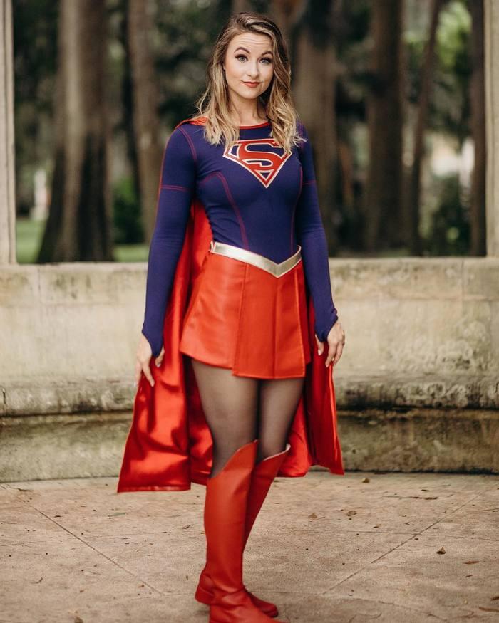 Такой супермен найден. Девушки, Юбка, Косплей, Супермен, Длиннопост