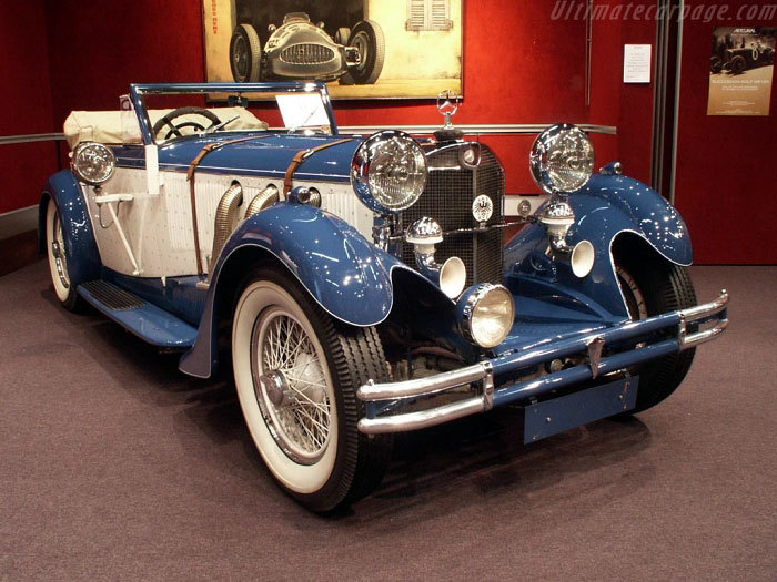Mercedes-Benz 710SS Thrupp and Maberly Cabriolet (1930) Автоистория, Мерседес, 1930-е, Длиннопост