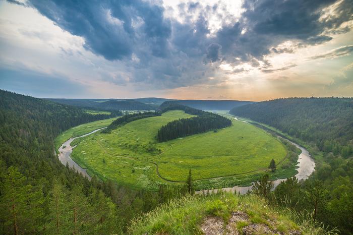 Где снимать пейзажи на Среднем Урале Урал, Пермский край, Поход, Сплав, Скалы, Пейзаж, Длиннопост
