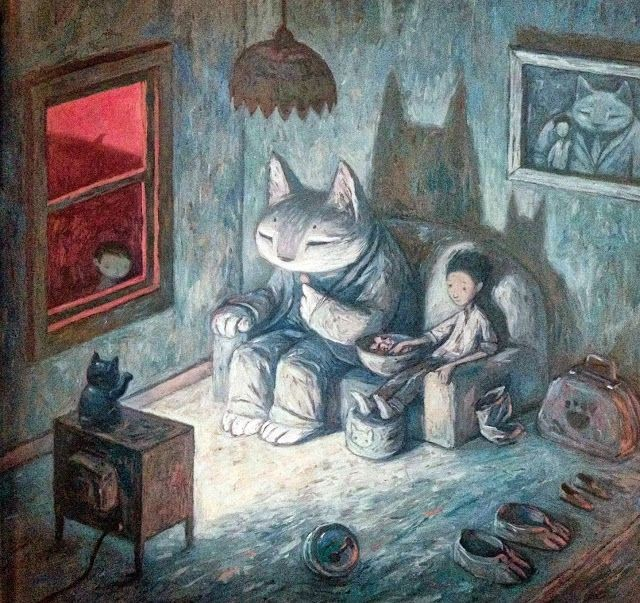 Художник Shaun Tan Арт, Рисунок, Иллюстратор, Шон Тан, Длиннопост